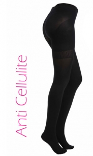 Collant anti cellulite noir