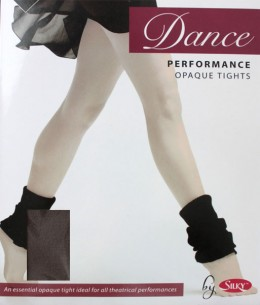 Collant de danse enfant marron