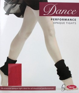 Collant de danse enfant rouge