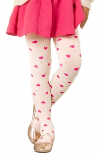 Collant enfant Zuza rose
