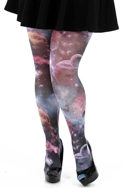 collant galaxy grande taille collants fantaisie. Black Bedroom Furniture Sets. Home Design Ideas