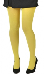 Collant jaune citron
