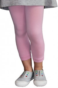 Legging enfant rose pastel